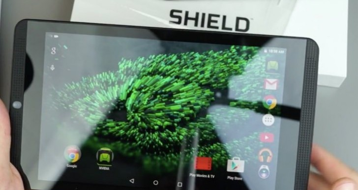 Android 6.0.1 update notes for NVIDIA Shield Tablet K1