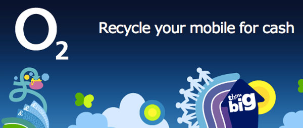 Recycle and earn cash from O2