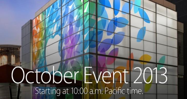 Apple pushing iPad 5, mini 2 keynote event hard