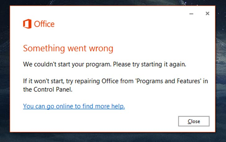 office-365-error-message