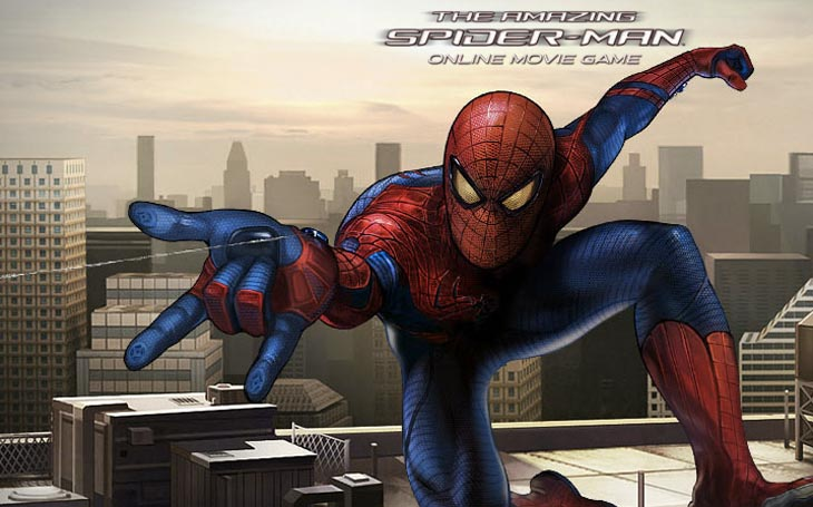 spiderman games on line