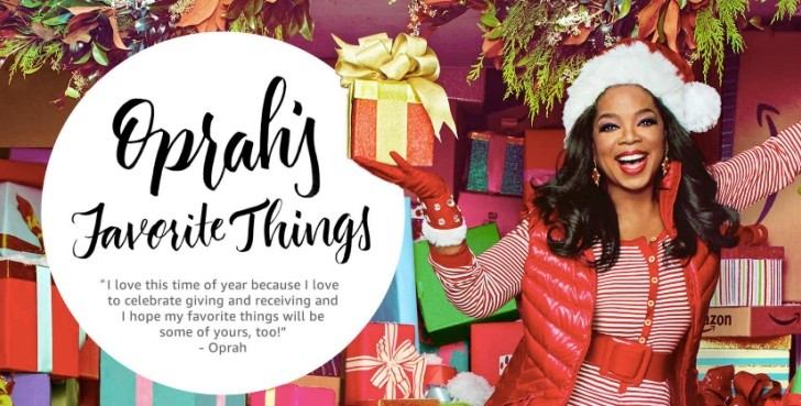 Amazon Oprah's Favorite Things 2016 gift list in full