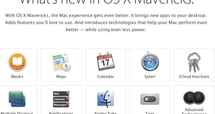 Mac OS X Mavericks 10.9.4 update live