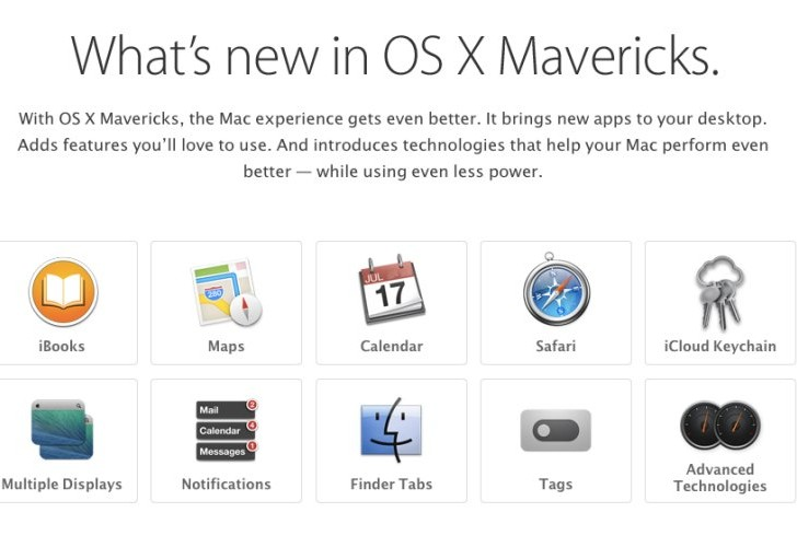 OS X Mavericks features overview in 4 minutes