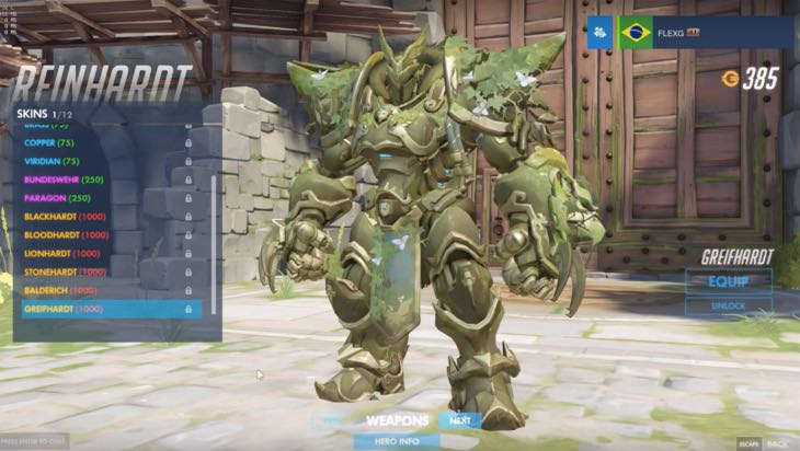 overwatch reinhardt skins balderich  greifhardt gameplay  u2013 product reviews net