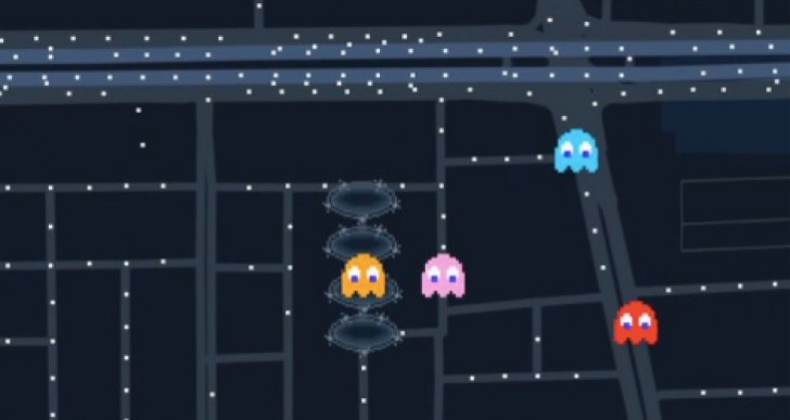 How to play Pacman for Google Maps April Fools 2017