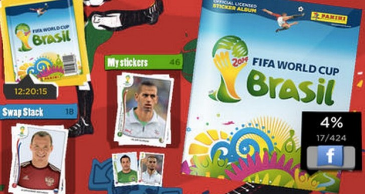 Panini Online Sticker Album app with free packs