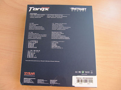 Patriot Torqx 128GB SSD (Solid State Drive) 15