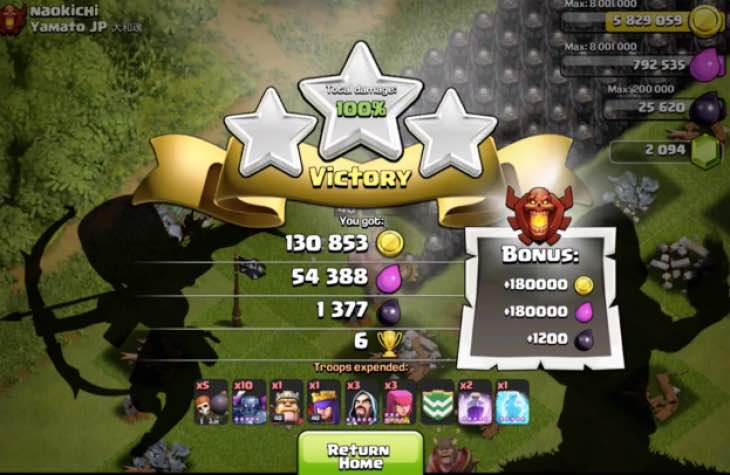 pekka-max-attack-clash-of-clans