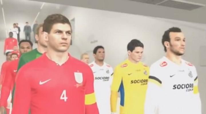 PES 2014 Vs FIFA 14 demo gameplay