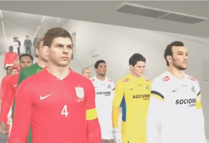 PES 2014 Vs FIFA 14 demo gameplay