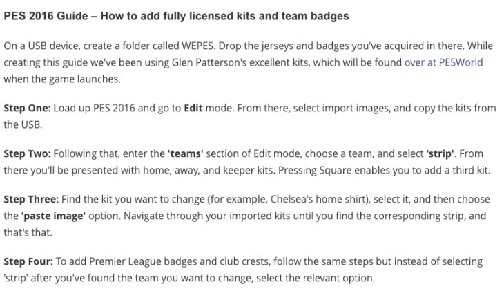 pes-2016-how-to-get-premier-league-kits-on-ps4