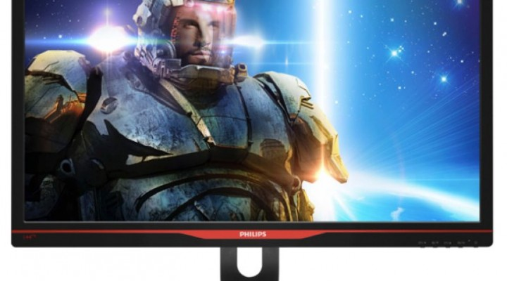 Philips Gaming Monitor with G-SYNC at CES 2014