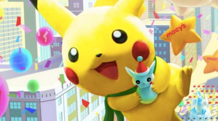 Macy's Thanksgiving Day Parade with 2014 Pokemon Pikachu