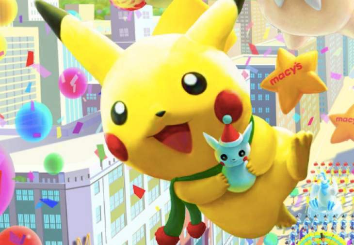 Macy S Thanksgiving Day Parade With 2014 Pokemon Pikachu