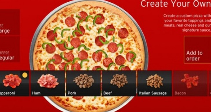 Pizza Hut app for Xbox 360 makes you even lazier