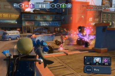 Plants Vs Zombies: Garden Warfare on PS4