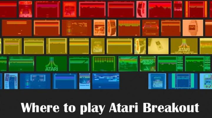 Atari Breakout game with Google vs. Atari online
