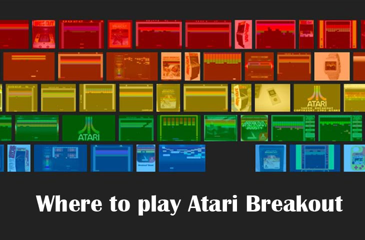 Atari Breakout Game With Google Vs Atari Online Product