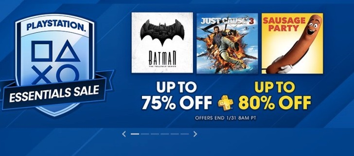 PSN PlayStation Essentials sale 2017 for US not UK