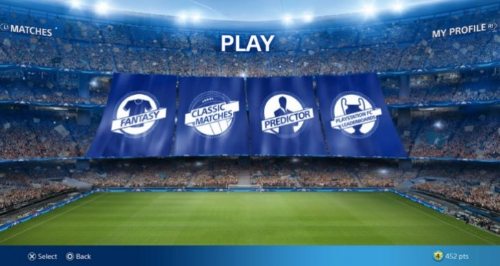 Download PlayStation FC for free Champions League prizes