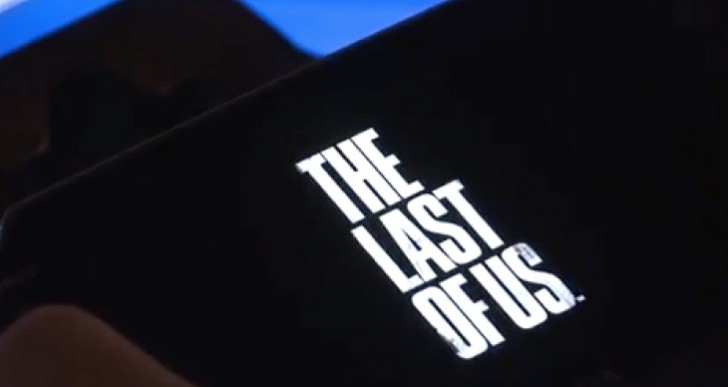 PlayStation Now demo with The Last of Us on PS Vita