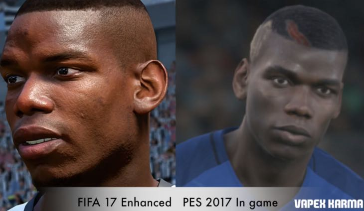 Image result for pes 17 pogba