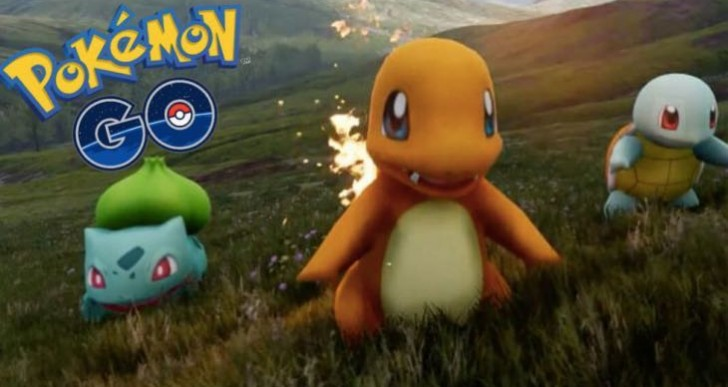 Pokemon Go Gameplay after download