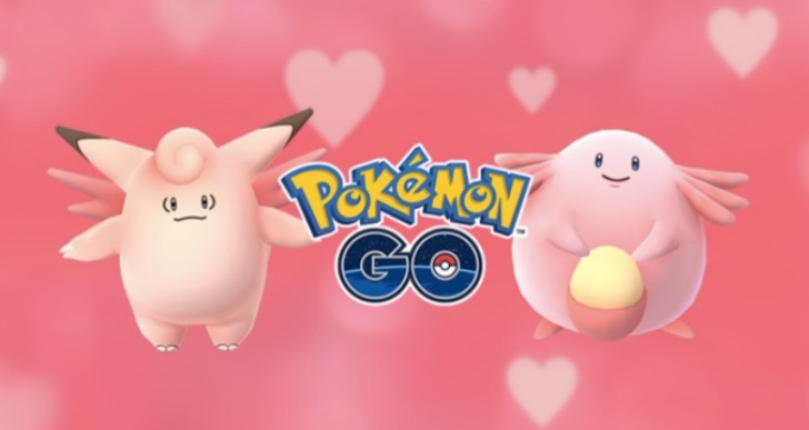 Pokemon Go Valentine's Day event with Gen 2 eggs