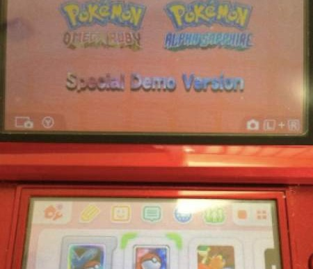 Pokemon ORAS demo code locations for US, UK