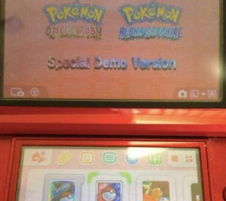 Pokemon ORAS demo code locations for US, UK