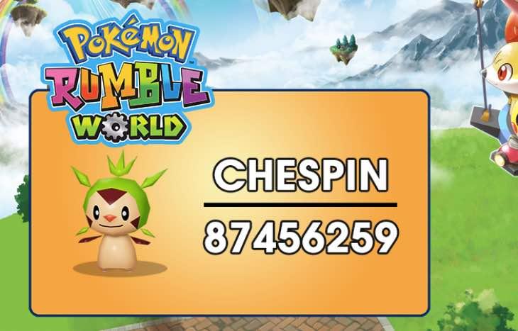 pokemon-rumble-world-chespin-password
