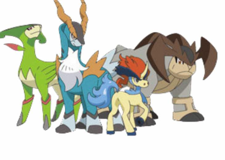 Pokemon ORAS Virizion, Cobalion and Terrakion location ...