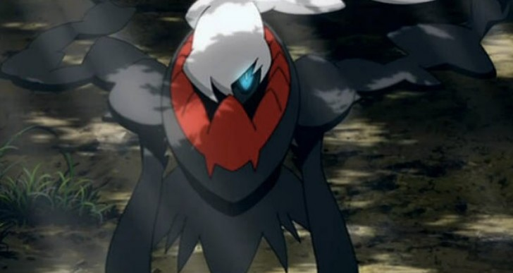 Pokemon X and Y Darkrai event with Phantom Force