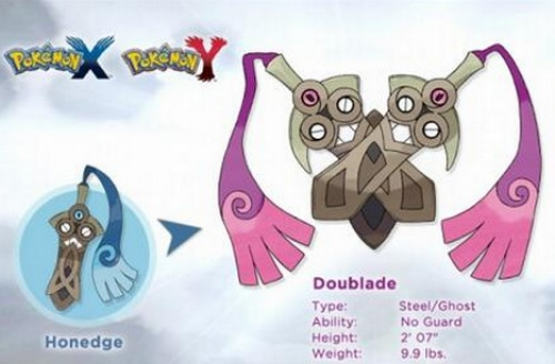 Doublade will evolve into Aegislash.. are you ready?