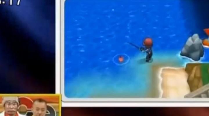 Pokemon X and Y new wild Pokemon with fishing