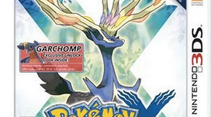 Pokemon X and Y Walmart event Garchomp, Scizor abilities