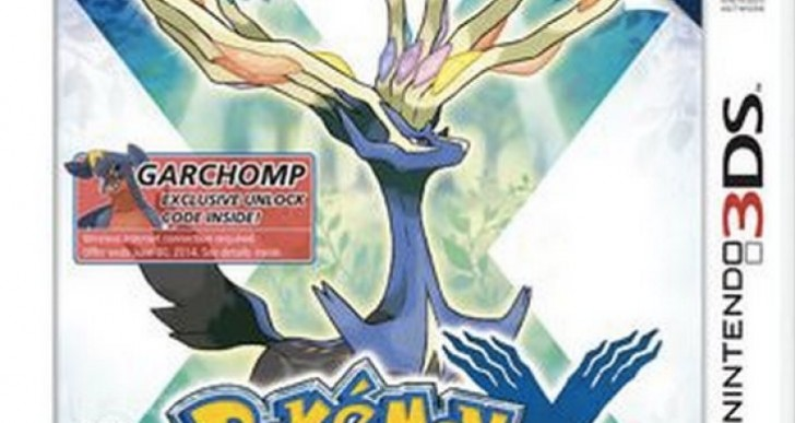 Pokemon X and Y Walmart event Garchomp, Scizor abilities