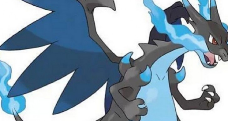 Pokemon X and Y Mega Charizard X stats before release