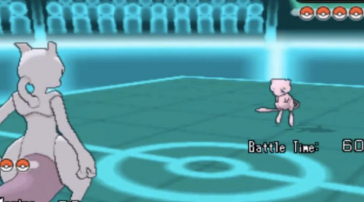 Pokemon X and Y Pokebank exposes Mew