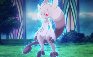 Pokemon X and Y Mewtwo transformation visualized
