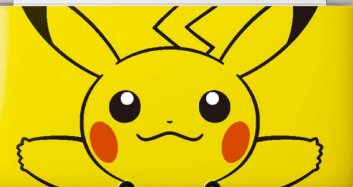 Play Pokemon X and Y with Pikachu 3DS XL