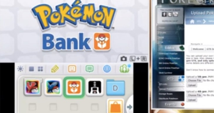 Pokemon X and Y Pokegen and GTS after bank