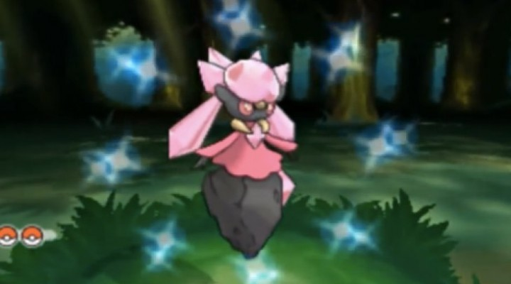 Pokemon X and Y Shiny Diancie, Hoopa revealed