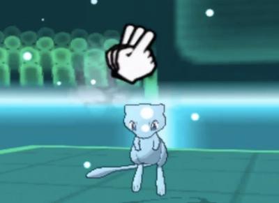 Shiny Mew looks so good!