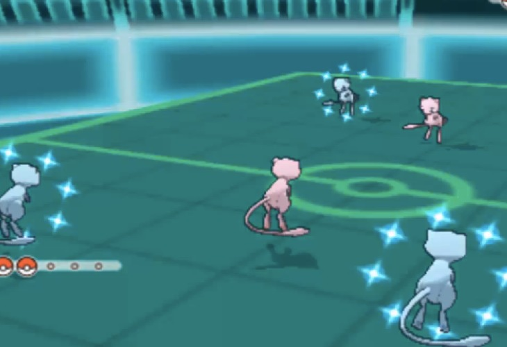 pokemon x and y shiny mew gameplay is epic � product