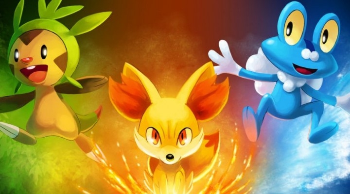 Pokemon X and Y Chesnaught, Delphox and Greninja exposed
