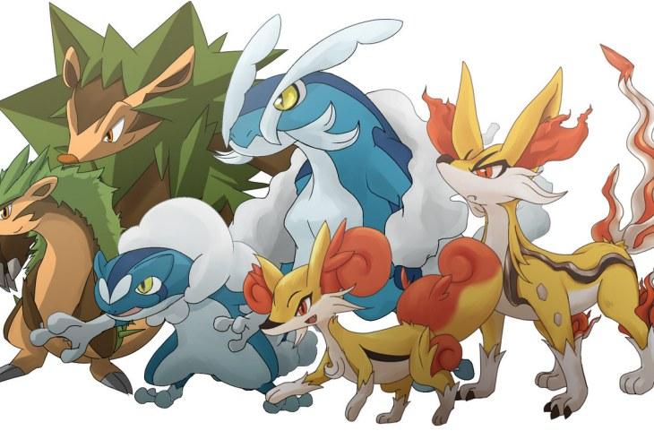 Pokemon x and y starter evolutions may be revealed - X evolution pokemon ...