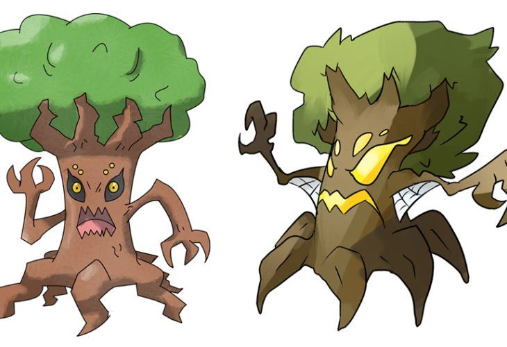 Pokemon X and Y new Tree Pokemon, but what class?
