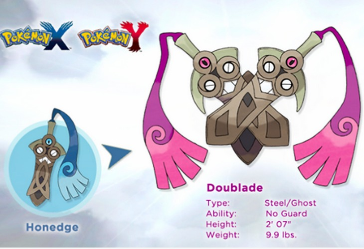 Pokemon X and Y new evolution with steel ghost type